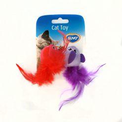 duvo-cat-toy-pajaros-plumas-2ud