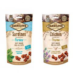Carnilove Snacks para Gatos