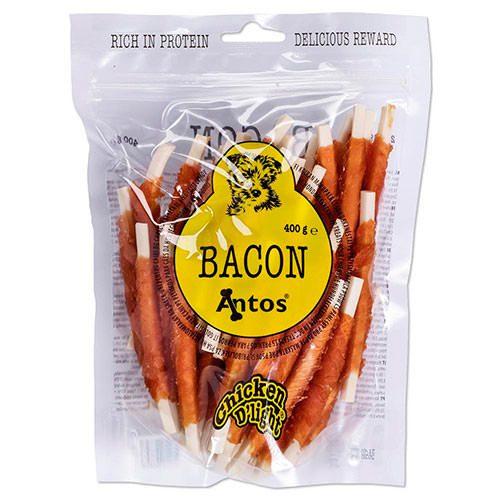 Golosinas para perros de bacon