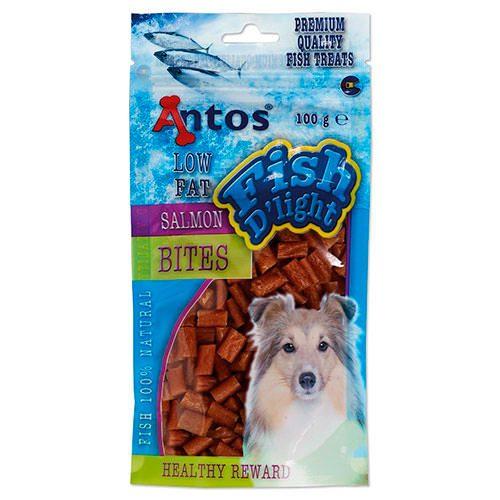 Golosinas para perros trocitos de Salmón