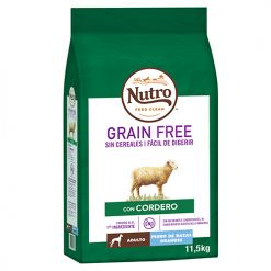 Nutro grain free cordero raza grande