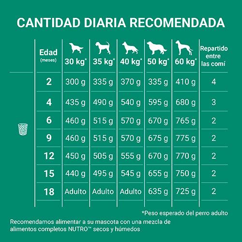 Nutro GRAIN FREE cachorro Raza Grande