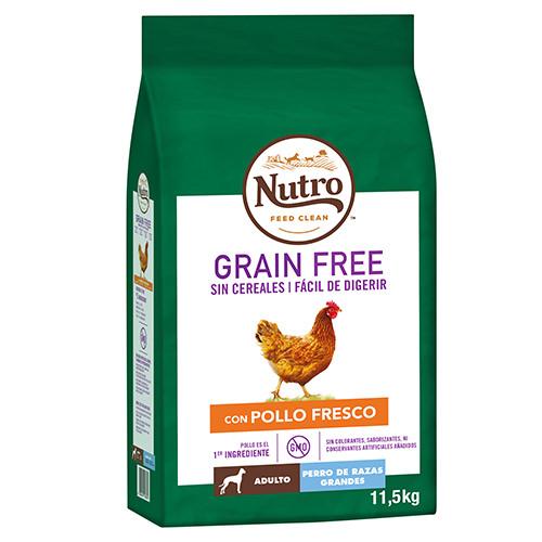 Nutro grain free pollo raza grande
