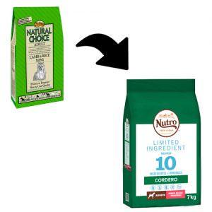 Nutro Limited Ingredient Razas Pequeñas